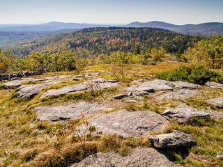 Wapack Ridge from Kidder Mt.