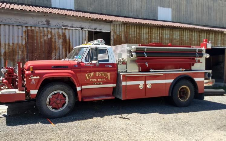 1977 Ford F700 Fire Truck